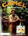 1983 Camel Cigarettes Camping Outdoor Jungle Where Man Belongs Print AD