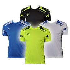 Jeansian Mens Sport Quick Dry Stretch T-Shirts Top Tee Athletic 4 Colors LSL3209