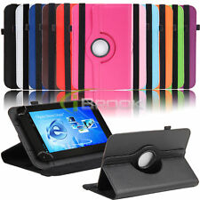 Universal Rotating Case Cover for Verizon Ellipsis HP Stream 7 inch RCA Tablet