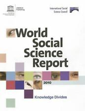 NEW - World Social Science Report 2010: Knowledge Divides