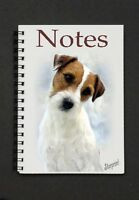 Parson Jack Russell Terrier Notebook/Notepad No 2 by Starprint