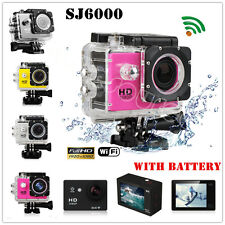 "2.0"" LCD WiFi Cámara Deportiva SJ6000 SJ4000 HD 1080P Deporte Video Sumergible K"