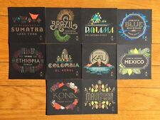 STARBUCKS RESERVE TASTING CARDS - NEW
