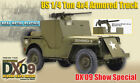 """Dragon DX09 WWII US 1/4 Ton 4x4 Armored Truck 1/6 scale 12"""" Jeep, 50 cal 71428"""