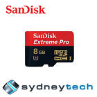 SanDisk Extreme Pro 8GB micro SD Class 10 UHS-I microSD SDHC 95MB/s Memory Card