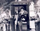 LOUISE JAMESON LEELA WITH TOM BAKER DR DOCTOR WHO TARDIS SIGNED AUTOGRAPH  UACC