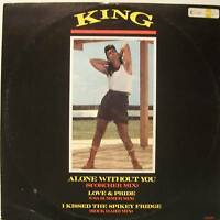 "KING ~ ALONE WITHOUT YOU ~ 12"" Single PS"