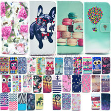 For Samsung Galaxy S6 edge S6 S5 Fashion Wallet Stand PU Leather Cover Case