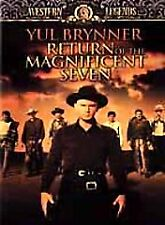 Return of the Magnificent Seven (DVD, 2001)  Yul Brynner, Robert Fuller NEW