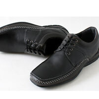 Manhattan Casual Lace Sneakers Mens Black Shoes