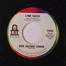 LYNN CASTLE & LAST FRIDAY'S FIRE: Rose Colored Corner / The Lady Barber 45 Rock