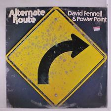 DAVID FENNELL & POWER POINT: Alternate Route LP (Australia, '76, small toc, lam