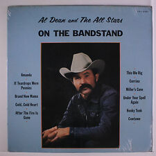 AL DEAN: On The Bandstand LP Sealed Country