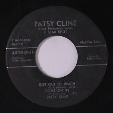 PATSY CLINE: Just Out Of Reach + 3 45 (dj) Country