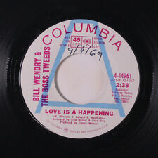 BILL WENDRY & BOSS TWEEDS: Love Is A Happenning / Heartache Line 45 (dj) Rock &