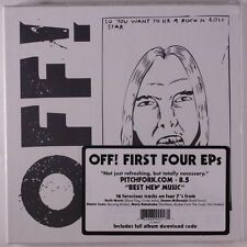 OFF!: First Four Eps 45 Sealed (boxset of 4 seven inch singles, w/ download cod