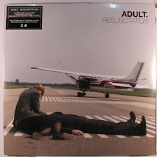 ADULT: Resuscitation LP Sealed (2 LPs, reissue, w/ free download that includes