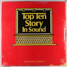 VARIOUS: Top Ten Story In Sound LP Sealed (2 LPs, sl corner bends) Soul
