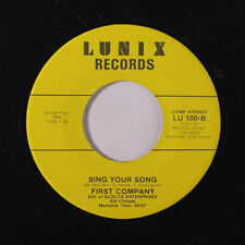 FIRST COMPANY: Sing Your Song / Dream Lover 45 (bubbly pressing) Funk