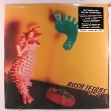 BUSH TETRAS: Happy LP (w/ card for free MP3 download) Rock & Pop