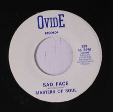 MASTERS OF SOUL: Sad Face / Lord Bless My Woman 45 Soul