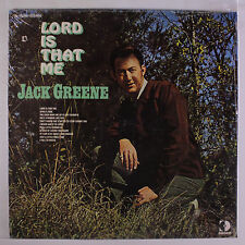 JACK GREENE: Lord Is That Me LP Sealed (co, hole in shrink) Country