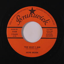 JACKIE WILSON: The Way I Am / My Heart Belongs Only To You 45 (almost M-) Soul
