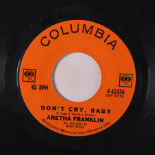 ARETHA FRANKLIN: Don't Cry Baby / Without The One You Love 45 (promo tol) Soul