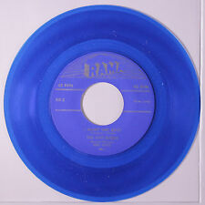 FIVE BUDDS: I Want Her Back / I Guess It's All Over Now 45 (repro, blue wax) Vo