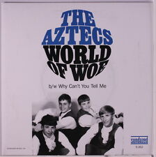 """AZTECS: World Of Woe / Why Can't You Tell Me 45 (PS, """"black friday 2013"""", reiss"""