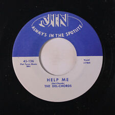 DEL-CHORDS: Help Me / Say That You Love Me 45 (repro) Vocal Groups