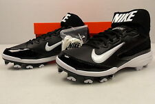 Nike Mens Huarache Strike Mid Baseball Cleat 615966 010 Black Sizes 6.5 - 13