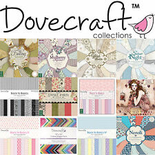 Dovecraft Scrapbooking Paper Card Pack Collections12x12 8x8 6x6