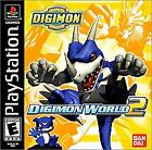 ***DIGIMON WORLD 2 PS1 PLAYSTATION 1 DISC ONLY~~~