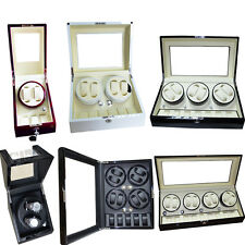 Watch Rotator Display Storage Case Kinetic Spring Automatic Watches Winder Box
