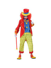 Adult Large Krazy Clown Crazy Circus Party Scary Fancy Dress Costume Mens BN