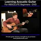 Learn to Play Acoustic Guitar DVD BEST BEGINNER LESSONS