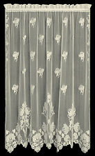 """Windsor Panel by Heritage Lace, 60"""" Wide, Choice of 2 Lengths & Colors, Classic"""