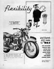 1961 BSA Model A7 500 Motorcycle Original Ad
