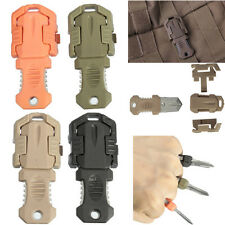 Molle Military Beatles Tape Buckle pocket shiv & Adapter Accessorie Backpack NEW