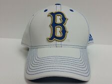 UCLA Bruins Cap Curved Brim Adidas White Stretch Fit Fitted Hat NCAA