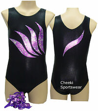 Size 7,8,9,10,12, - Leotard Gymnastic Dance - Leotard & Scrunchie - BNWT