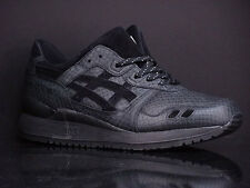 H52EK 9090 BRAND NEW Asics Onitsuka Tiger Gel-Lyte III Black Mamba Pack Men's