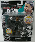 WWE Deluxe Build n Brawl. Series 3. MVP. Rare! New!