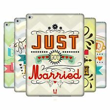 HEAD CASE DESIGNS VOTOS MATRIMONIALES CASO DURO TRASERO PARA APPLE iPAD