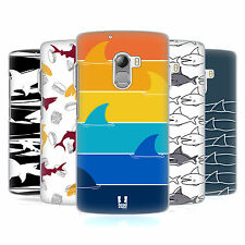 HEAD CASE DESIGNS STAMPE SQUALO COVER RETRO RIGIDA PER LENOVO TELEFONI