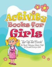 Activity Books for Girls (Tear Up This Book! the Stencil, Stationary, Games,...