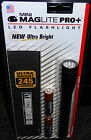 MINI MAGLITE PRO PLUS LED FLASHLIGHT 245 LUMENS 2 MODES with POUCH SP+P01H NEW