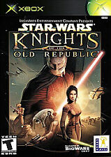Star Wars: Knights of the Old Republic Microsoft Xbox game+case+manual