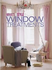 What's in Style - Window Treatments by Megan Connelly (2001, Paperback)